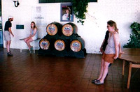 85 X, CARMEN AND SABINE AT WINE TASTING, CHILE